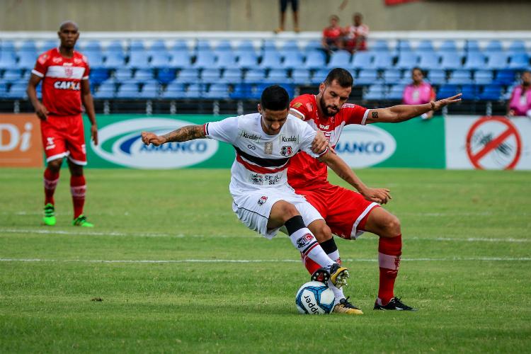 Santa Cruz empata com o CRB e se mantém líder do Grupo A da Copa do Nordeste