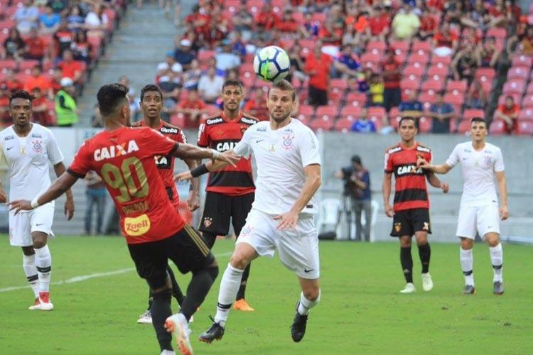 Com pouca intensidade no ataque, Sport empata com Corinthians na Arena